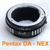 Pentax DA AF lens to E Mount NEX-5 NEX-3 Adapter
