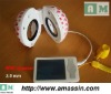 Portable speakers with 3.5mm stereo jack for iPod/iPad/iPhone
