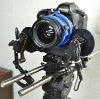 Proaim e-Focus Pro zoom & follow focus control with 15mm brackets with gear block 7.2v battery w charger 32ft long cable & Bag