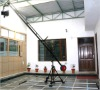 Proaim production package 14ft jib crane for camera with tripod & power head for camera track dolly with 12 ft long track
