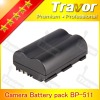 Profession chinese lithium battery manufacturer Travor for Canon EOS BP511A, BP512, BP508, BP514DSLR