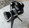 Promotional SLR type 12Mage pixels digital camera with Wide angle lens, 2.4 inch screen and 8X digital zoom
