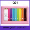 Q51  Bottom price 4.3inch HD touch mp4 player  from China