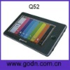 Q52  mp4 touch player with Touch Pen ,omni  Remote Control suport HDMI TV-OUT