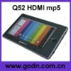 Q52  touch mp4  with Touch Pen ,omni  Remote Control suport HDMI TV-OUT