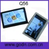 Q56   promotional big screen mp4 player at best price  Supports 720p Videos and TV-out Function