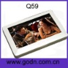 Q59 Private model  cube mp4 player  with button supports 720P video,TV OUT function