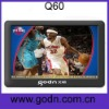 Q60  Fashion  5inch mp4 mp5 player support TV OUT,FM,E-book HD720 video