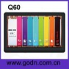 Q60  Fashion  5inch mp4 touch player support TV OUT,FM,E-book HD720 video
