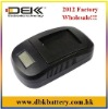 Rechargeable Battery Chargers With LCD Screen