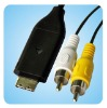 SUC-C3 AV cable for Samsung digital camera,camera cable