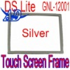 Silver Frame Surround of Touch Screen Lower Screen Supporting for DS Lite