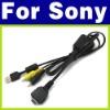 Son ii Cybershot DSC-W55 W70 W80 W90 N1 USB AV Cable