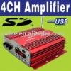 Stereo Speaker Car Power Amplifier O-190