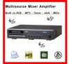 Supply DVD/MP3/Tuner/AUX - Multisource Amplifier SX-116