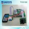 TC6181 digital usb sd mp3 player aux recorder