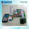 TC6181 mp3 player recordable board