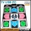 TV PC USB dance charge mat dance platform stepmania