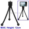 Table Portable Tripod Stand for Digital Cameras, Max Height: 120mm