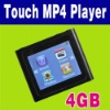 Touch LCD 4GB 4 GB 6th MP3 MP4 Player + FM Radio