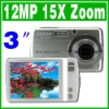 Touch screen 12MP  camcorder 15X Zoom Digital camera