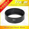 Travor 62mm wide ange metal lens hood