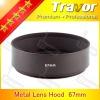Travor 67mm wide ange metal lens hood