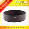 Travor 72mm metal lens hood