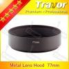 Travor 77mm lens hood of metal