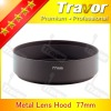 Travor 77mm metal lens hood