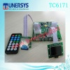 Tunersys fm usb audio board lcd display. TC6171