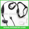 Two way radio accessories throat vibration headphone for Vertex transceiver VX-520UD VX-510