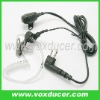 Two way radio accessory Acoustic tube PTT Earpiece Microphone for Motorola 2 pin UHF VHF GTI GTX PMR446 PR400 Mag One EP450 RDX