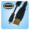 U8 USB 2.0 Cable for Kodak Easyshare Camera C913 C813 C713 C613 M753