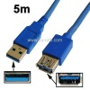 USB 3.0 AM to AF Cable, Length: 5m