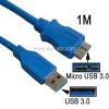 USB 3.0 to Micro USB 3.0 cable, length: 1M