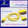 USB Data Sync Cable for iPod Touch iPhone 2G 3G 3GS 4G