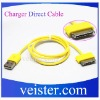 USB Data Transfer and Charger Cable, Supports Apple's iPhone/iPod