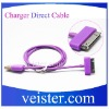 USB Data Transfer and Charger Cable for Apple's iPhone/iPod