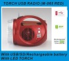 USB TORCH RADIO