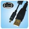 USB cable Mini-b 4 pin for FUJI FinePix Digital Camera