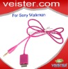 USB cable/charger for Sony mp3/mp4 walkman/player