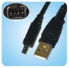 USB to NIKON D90 Cable/ Digital Camera Cable/Camera USB Cable/USB Camera Cable