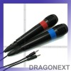 Universal Karaoke Mic x 2 For PS3/PS2/ Wii/ XBOX360/ PC
