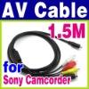 VMC-15FS HDR-HC7 HDR-HC9 HDR-SR1 SR10 AV Cable for Sony