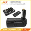 Vertical power battery grip for Nikon D90 D80