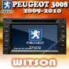WITSON car dvd gps 2 din peugeot 3008