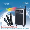 Wireless PA Amplifier with MP3 recording , DVD player(TK-T29)