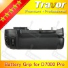 With EN-EL15 and AA battery holder D7000 battery grip