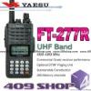 Yaesu FT-277R 5W 400-480 Mhz portable UHF FM radio
